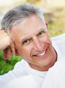 Implant Dentistry Arlington TX Near Grand Prairie - Smiling Man