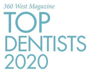 Top General Dentist 2020 - 360 West Magazine - Dr. Stephen Ratcliff